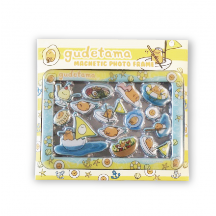(瑕疵品) Gudetama Epoxy Magnetic Photo Frame Box Set