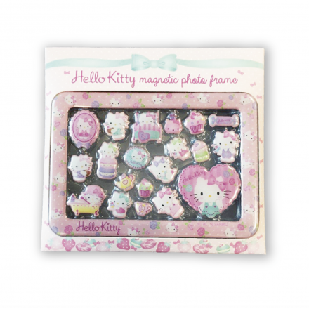 (瑕疵品) Hello Kitty Epoxy Magnetic Photo Frame Box Set
