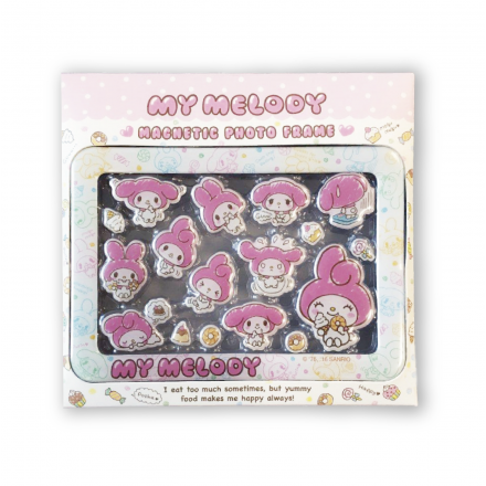 (瑕疵品) My Melody Epoxy Magnetic Photo Frame Box Set