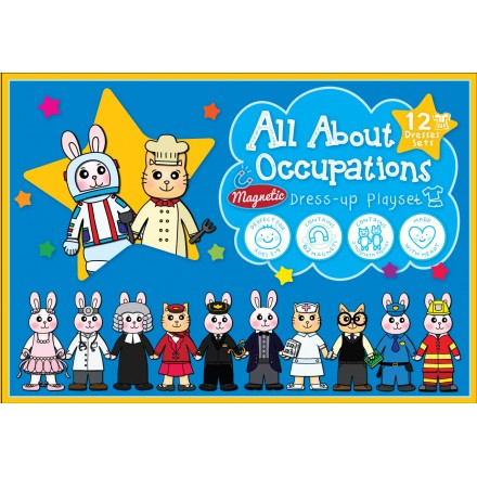 All About Occupations Magnetic Dress-up Playset